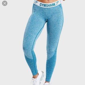 Gymshark Deep Teal Flex Leggings